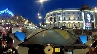 Ночной прохват по Санкт- Петербургу  21.04.2012