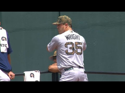 BOS@BAL: Wright tosses a complete game against O's