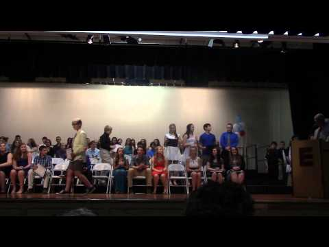 Epping Middle School 8th grade Graduation 7