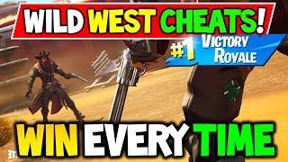 Fortnite: WILD WEST LTM CHEATS to WIN EVERY TIME! EASY WINS! (WILD WEST LTM Explained Tips & Tricks)
