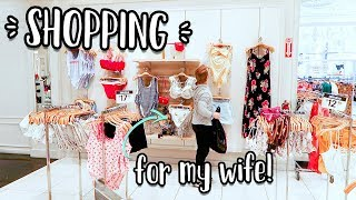 BUYING OUTFITS FOR MY WIFE + SURPRISE ROAD TRIP!