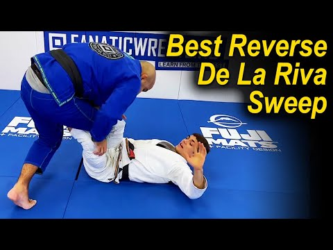 How To Do The Best Reverse De La Riva Sweep by Mikey Musumeci