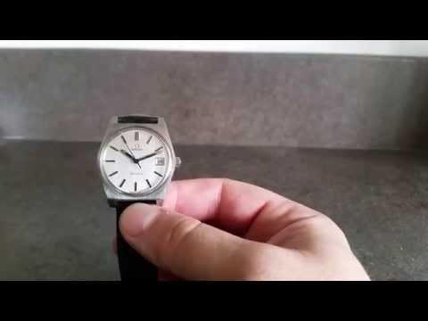 1972 Omega 613 Geneve vintage watch