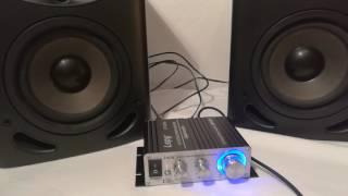 Lepy LP 2020A Unboxing 2017 & Test (cheap good quality amp)