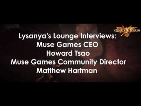 Lysanya's Lounge: Interview with Muse Games on November 29, 2016
