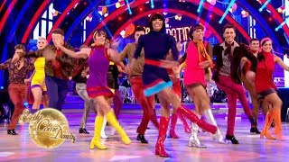 Pro Dancers' group dance to 'Too Many Fish in The Sea' - Strictly Come Dancing 2017