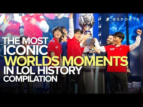The Most ICONIC Worlds Moments in League of Legends History