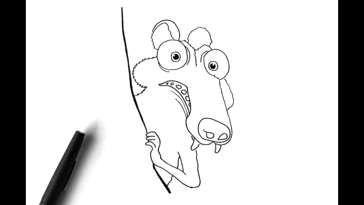 100+ ideas Dibujo Ardilla Ice Age on christmashappynewyears.download