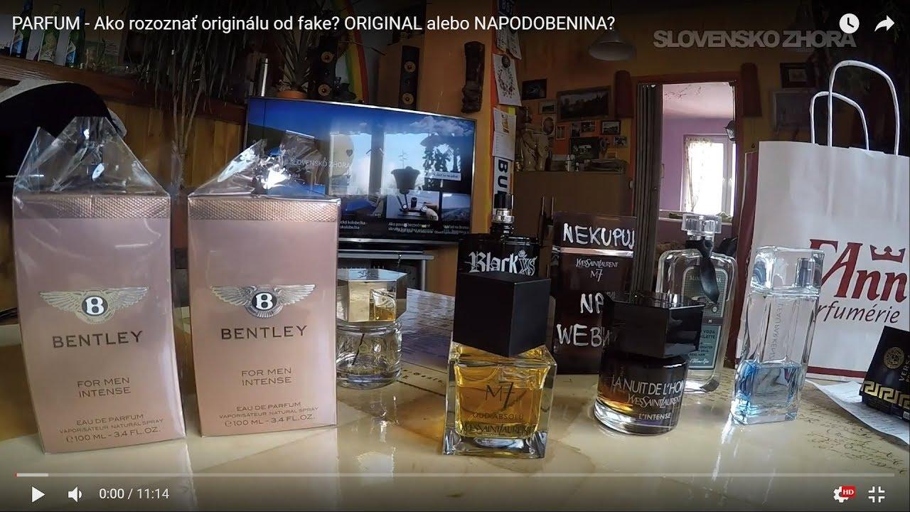 61d814d93 PARFUM - Ako rozoznať originálu od fake? NAPODOBENINA alebo ORIGINAL? Real  vs Fake