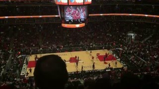 Chicago Bulls and Sacramento Kings March 21 2016 (United Center Tour)
