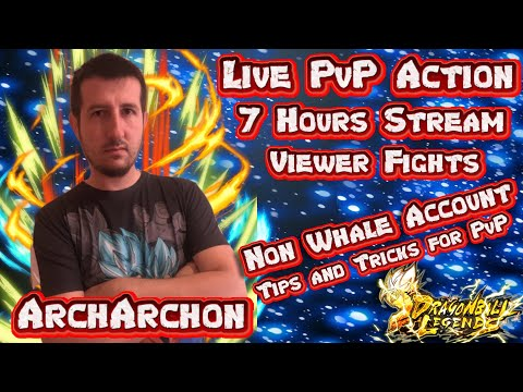 Live Ranked And Viewer PVP Dragon Ball Legends