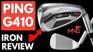 Ping G410 Irons Review - Testing 5 Iron 7 Iron & PW Golf Irons