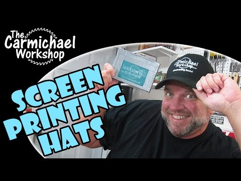 How to Screen Print Hats and Caps in 10 Easy Steps!