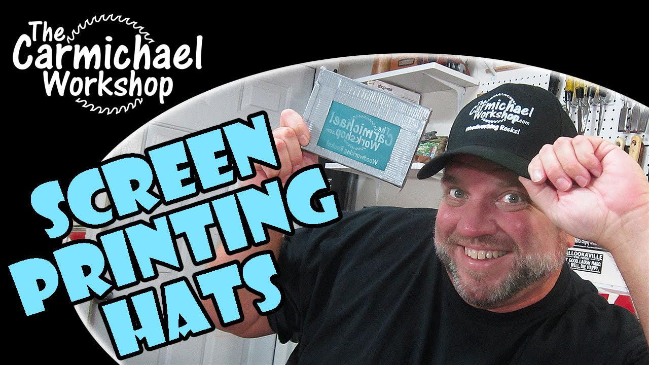 How to Screen Print Hats and Caps in 10 Easy Steps! - YouTube 981f80c1b13