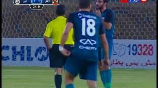كأس مصر 2016 | ملخص الشوط الاول من مباراة الاهلى VS إنبى 0 / 1 واول ظهور لـ النجم  التونسي على معلول