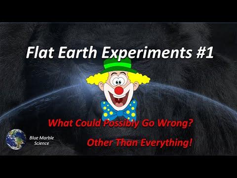 Flat Earth Experiments #1 thumbnail