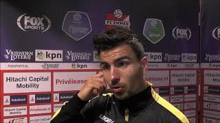 BSR TV: Gianluca Nijholt na FC Emmen - NAC (2-0)