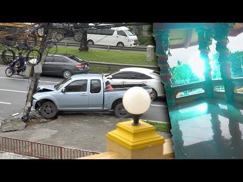 I Accidentally Filmed An Explosion/car Accident...