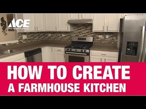 Farmhouse Kitchen Ace Hardware, Ace Hardware Kitchen Cabinets
