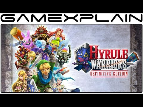 Hyrule Warriors: Definitive Edition - 1 Hour Livestream!