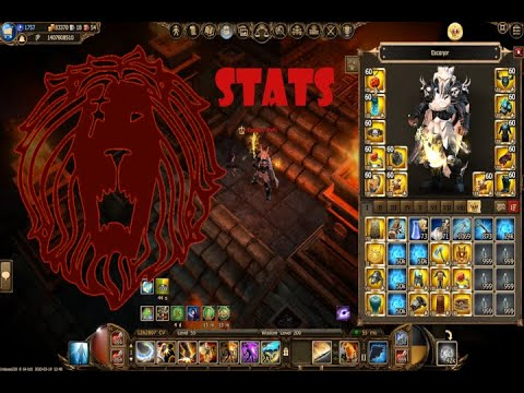 Drakensang Online: Prototype/Ecanor STATS Video
