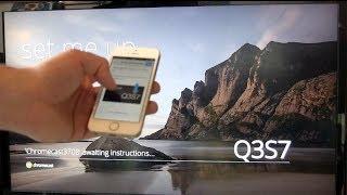 Google Chromecast einrichten und kurzer Test