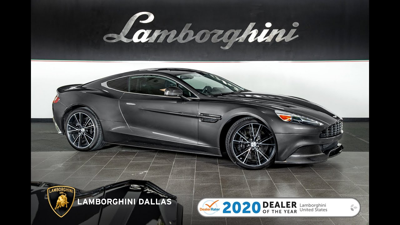 2014 Aston Martin Vanquish Gray Lt1373 Youtube