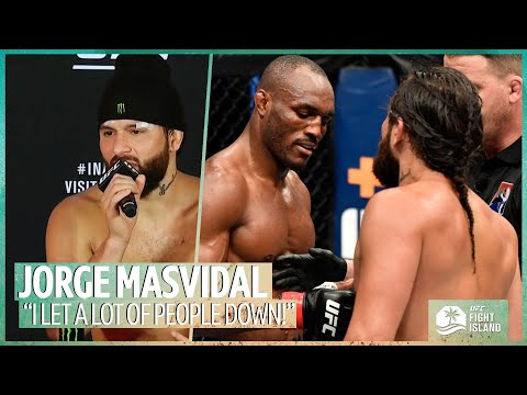 """""""I let a lot of people down!"""" Jorge Masvidal on UFC 251 defeat and what was said to Kamaru Usman"""