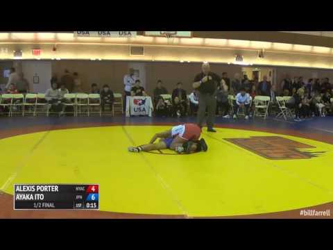 63 1/2 Final - Alexis Porter (NYAC) vs. Ayaka Ito (Japan)