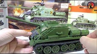 СУ-85 от World of Tanks и  COBI - Военная Академия, выпуск #24