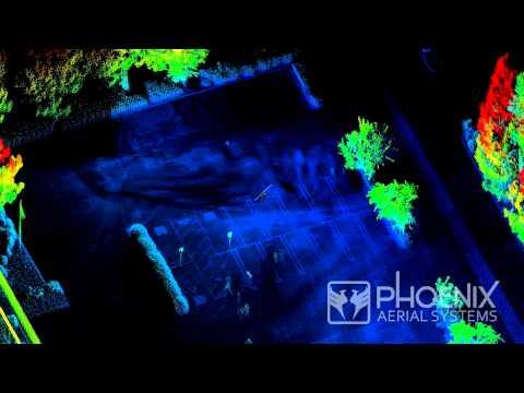 Real-Time View of Aerial LiDAR Pointcloud