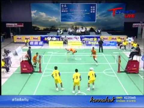 2011 Sepak Takraw Thailand League / Loei Vs Ratchasima- set 4