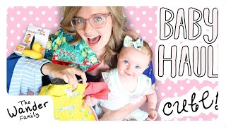 SHOPPING FOR BABY GIRL!! Target Baby Haul!