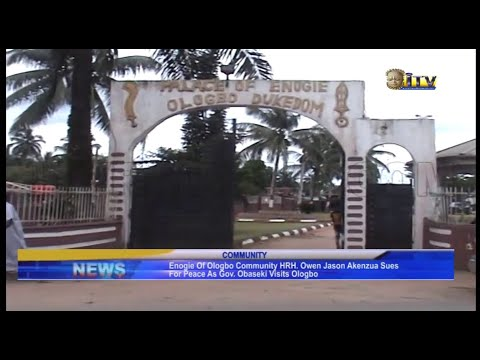 Download Enogie of Ologbe sues for peace as Gov. Obaseki visits Ologbo