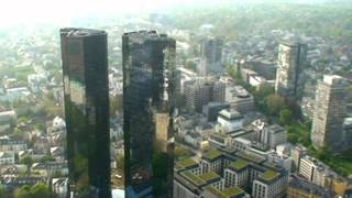 Frankfurt, Germany: 656 ft. Above City In Main Tower (HD)