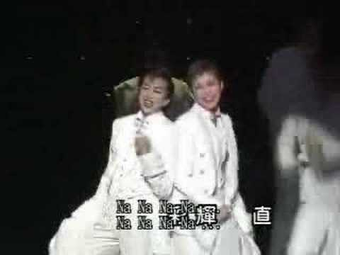 From 薔薇の封印 -ヴァンパイア・レクイエム- (The Seal of Roses -A Vampire's Requiem-) near the finale. Shibuki Jun(Rika)'s farewell performance in 2003 !