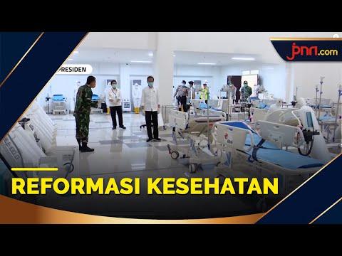 70 Tahun IDI, Jokowi: Ini Momentum Mereformasi Sistem Kesehatan