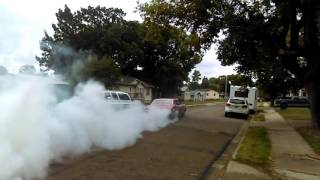 1967 Oldsmobile delmont 88 455 big block burnout