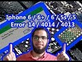 Iphone 6  6plus ERROR 4013 4014 40 14 9 21 done  by #Apple_Mechanic Ali Abdel Fattah