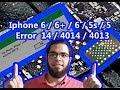 Iphone 6  6plus ERROR 4013 4014 40 14 9 21 done  by #Apple_Mechanic Ali Abdel Fattah