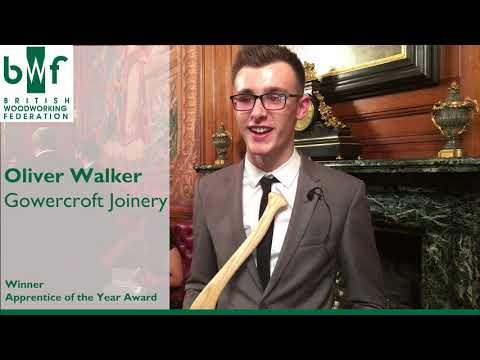 British Woodworking Federation:  Apprentice of the Year