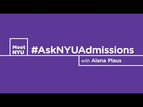 "#AskNYUAdmissions - ""What's the biggest misconception about NYU"""