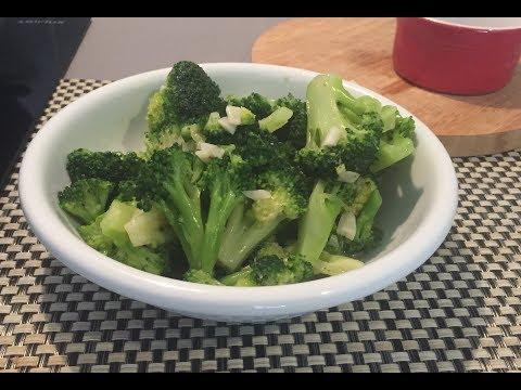 recette-de-brocolis-sautés-à-l'ail-(ma-cuisine-facile)