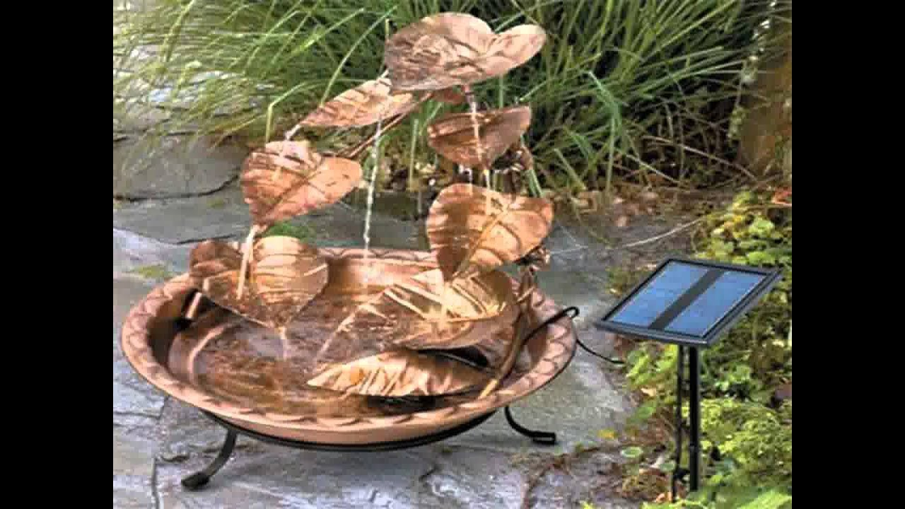 Small Home garden water fountains ideas YouTube