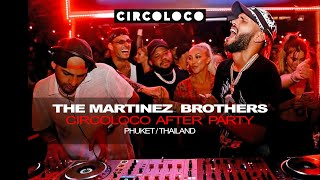 The Martinez Brothers Circoloco Afterparty mix 2020 @ Baba Beach Club Phuket Thailand