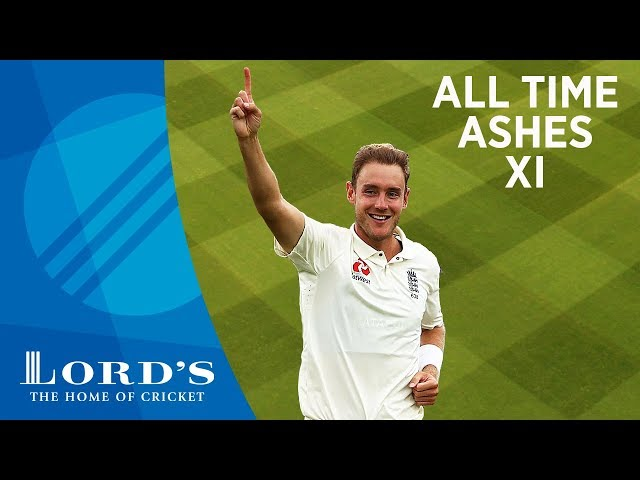 Anderson, Cook & Flintoff - Stuart Broad's All Time Ashes XI