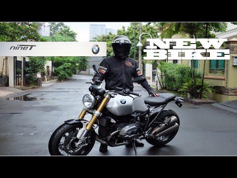 NEW BIKE! Dream Come True.. BMW R NINE T (R9T) Silver Tank 2016 #motovlog Indonesia