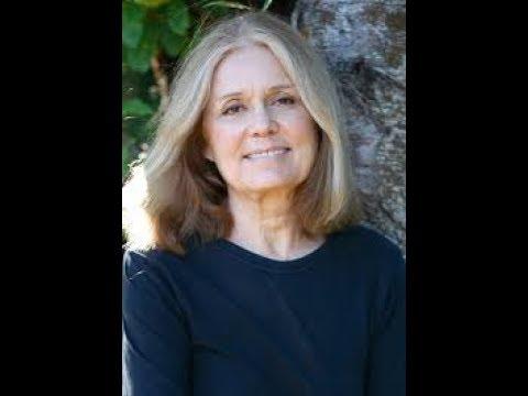 Gloria Steinem, Feminist and Ms Magazine editor.