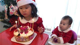 プリキュアクリスマスケーキでパーティ お料理ごっこ おままごと おゆうぎ Precure Christmas cake