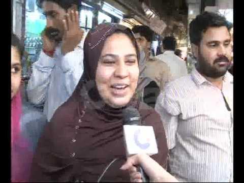 Women rush anarkali bano bazar for eid shopping pkg by for Bano bazar anarkali lahore